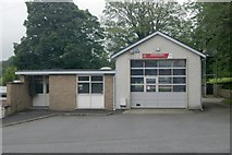 SD6178 : Kirkby Lonsdale fire station by Kevin Hale