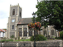 TL8683 : St Peter's church in Thetford by Evelyn Simak