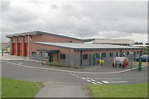 SJ9297 : Ashton-under-Lyne fire station by Kevin Hale