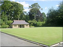 SE3238 : Bowling Green - Roundhay Park by Betty Longbottom