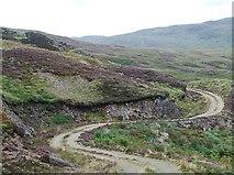 NR7467 : Hill track by Patrick Mackie