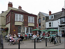 SY6778 : Public House, Brewers Quay, Weymouth, Dorset by Christine Matthews