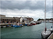SY6778 : The Harbour, Weymouth, Dorset by Christine Matthews
