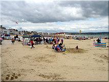 SY6879 : Weymouth Beach, Dorset by Christine Matthews