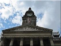 SD7109 : Clock on the Town Hall by Bill Nicholls