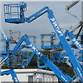 R5354 : Forest of Skylifts at Mungret by David Hawgood
