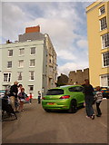 SN1300 : Tenby: the town's personalised number plate by Chris Downer