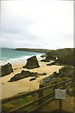 SW8469 : Bedruthan Steps by Anthony Parkes