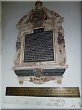 TM3669 : St Peter, Sibton- memorial (2) by Basher Eyre