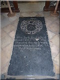TM3669 : St Peter, Sibton- floor memorial by Basher Eyre