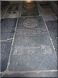 TM3669 : St Peter, Sibton- floor memorial (3) by Basher Eyre