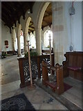 TM3669 : St Peter, Sibton- arches by Basher Eyre