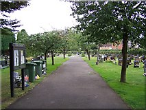 SO6302 : Lydney Cemetery by Geoff Pick