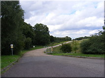 TM4172 : Entrance to the Sand and Gravel Pit by Adrian Cable