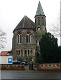 TG0738 : Holt Methodist Church by Phillip Perry