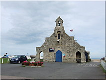 TR3751 : Walmer Lifeboat Station by Chris Whippet