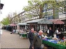 SJ9400 : Wednesfield Market by Richard Webb