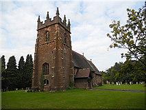 SJ7627 : Adbaston church dedicated to St Michael & All Angels by Row17
