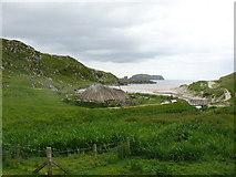 NB1340 : Iron Age House, Camas Bostadh by Andy Farrington