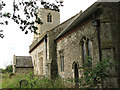 TF8730 : St Peter's church in Dunton by Evelyn Simak