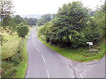 SK2071 : Lane junction from the Monsal Trail by Row17