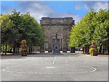 NS5964 : Glasgow Green, McLennan Arch by David Dixon