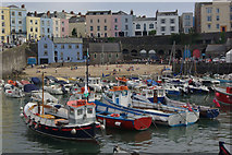 SN1300 : Tenby Harbour by Stephen McKay
