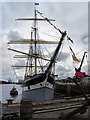 NS5665 : SV Glenlee (The Tall Ship at Glasgow Harbour) by David Dixon