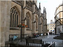 ST7564 : Bath Abbey by Paul Gillett