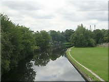SE5023 : Aire & Calder Navigation - Weeland Road by Betty Longbottom