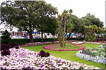 TM1714 : Garden, Clacton-on-Sea, Essex by Christine Matthews