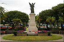TM1714 : War Memorial, Clacton-on-Sea, Essex by Christine Matthews