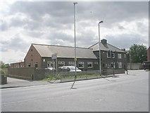 SE5023 : Knottingley Club - Weeland Road by Betty Longbottom