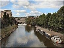 ST7564 : Boats on River Avon by Paul Gillett