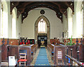 TG0512 : St Mary's church in North Tuddenham - view west by Evelyn Simak
