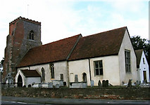 TM2130 : St Michael Church, Ramsey, Essex by Peter Stack