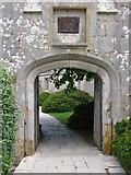 SY6874 : Front gate, Portland Castle by Simon Palmer