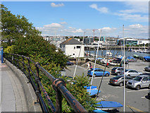 SX4853 : Phoenix Wharf - Plymouth by Mick Lobb