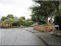 SJ8958 : Greenway Road becomes Carriage Drive by Jonathan Kington