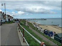 TM5176 : Early August on the promenade at Southwold by Basher Eyre