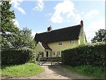 TM1469 : Manor Farmhouse, Thorndon, Suffolk by Adrian S Pye