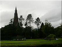 NY3704 : Miniature golf, Ambleside town centre by Peter S