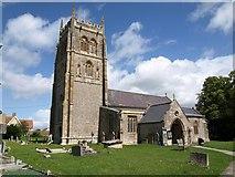 ST3733 : Church of the Holy Cross, Middlezoy by Derek Harper