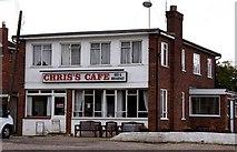 SU7995 : Chris's Cafe in Studley Green by Steve Daniels