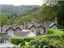 NY3704 : Ambleside view from Sweden Bridge Lane by Peter S