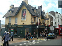 TQ3266 : The Old Fox  & Hounds public house, West Croydon by Stacey Harris