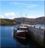 NF8855 : The Stelimar at Kallin harbour by Gordon Hatton