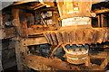 TM2748 : Woodbridge Tide Mill - Pit Wheel and Wallower by Ashley Dace