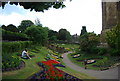 SU9949 : Castle grounds, Guildford Castle by N Chadwick