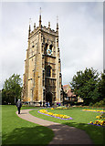 SP0343 : Bell tower, Evesham Abbey by Pauline E